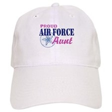 Proud Air Force Aunt Baseball Cap