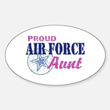 Proud Air Force Aunt Decal