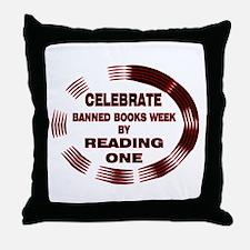 Banned Books Week Throw Pillow