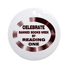 Banned Books Week Ornament (Round)