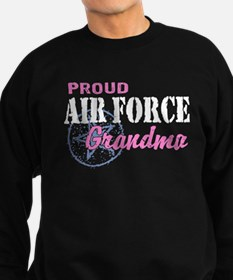 Proud Air Force Grandma Sweatshirt (dark)
