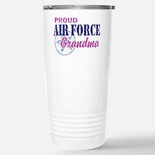 Proud Air Force Grandma Travel Mug