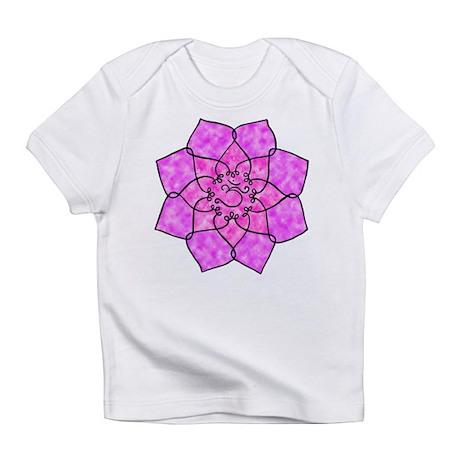 Om Lotus (Watercolor) Infant T-Shirt