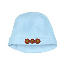 Fire Lotus baby hat