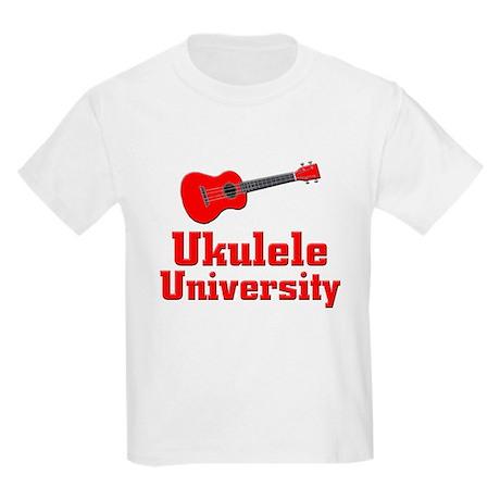 red ukulele Kids Light T-Shirt