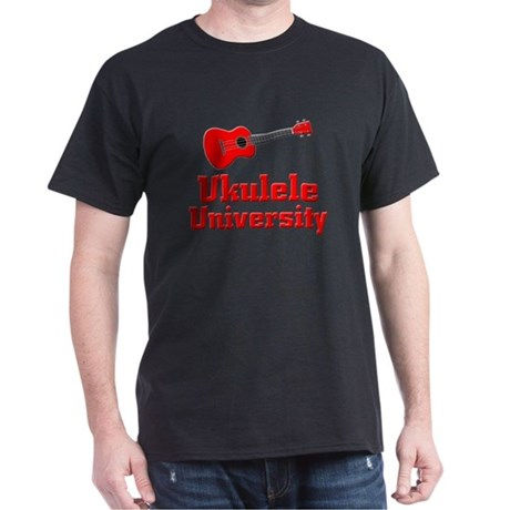 red ukulele Dark T-Shirt