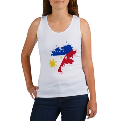 Pinoy Flag Women's Tank Top