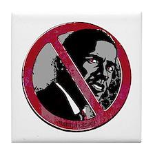 Anti-Obama Cool Tile Coaster