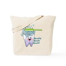 Brushy Brush Brush Tote Bag