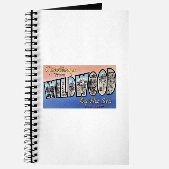Vintage Wildwood Postcard 1 Journal