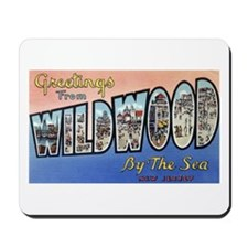 Wildwood by the Sea Mousepad
