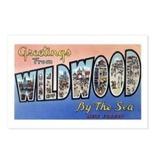 Wildwood by the Sea Postcards (Package of 8)