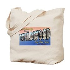 Wildwood by the Sea Tote Bag