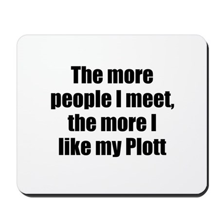 Plott Mousepad