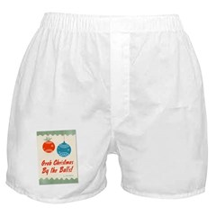 Christmas By the Balls Boxer Shorts