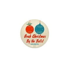Christmas By the Balls Mini Button (10 pack)