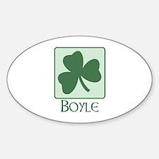 Boyle Family Oval Decal