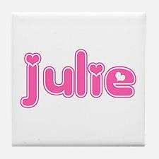 """""""Julie"""" Tile Coaster"""