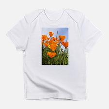 Orange California Poppies Infant T-Shirt