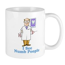 I See Numb People Mug