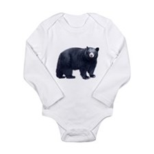 Black Bear Long Sleeve Infant Bodysuit
