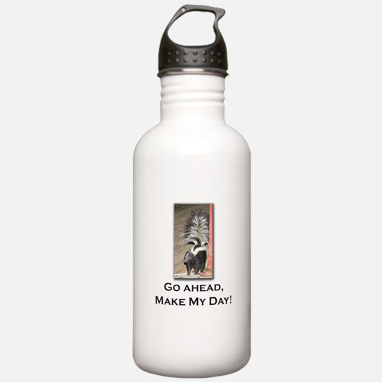 Make My Day Skunk Water Bottle