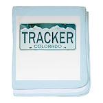 Colorado Tracker baby blanket