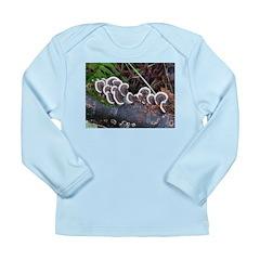Turkey Tail Fungus Long Sleeve Infant T-Shirt