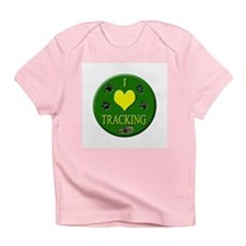 I Love Tracking Infant T-Shirt