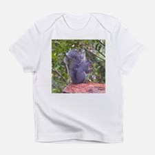 Gray Squirrel on a Log Infant T-Shirt