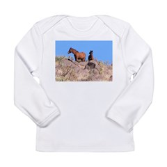 Arizona Wild Horses Long Sleeve Infant T-Shirt