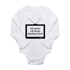 Weapon of Mass Distraction Long Sleeve Infant Body