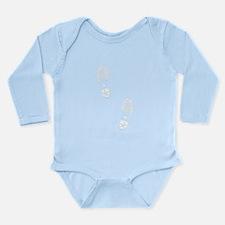 Boot Tracks Long Sleeve Infant Bodysuit