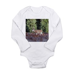 Buck in Afternoon Sunlight Long Sleeve Infant Body