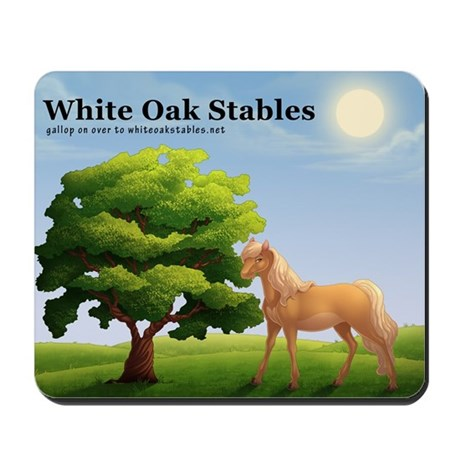 White Oak Stables Mousepad