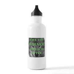 Help Idaho Wolves Water Bottle