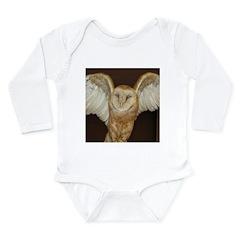 Barn Owl Long Sleeve Infant Bodysuit