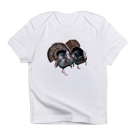 Wild Turkey Pair Infant T-Shirt