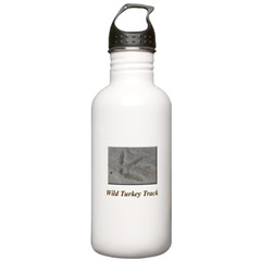 Wild Turkey Track Water Bottle