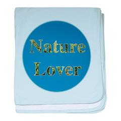 Nature Lover Sky Background baby blanket