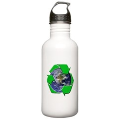 Earth Day Recycle Water Bottle