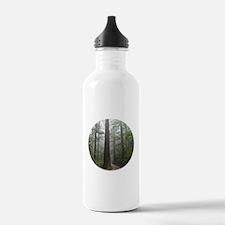 Redwood Forest Fog Water Bottle