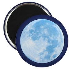 Blue Full Moon Magnet