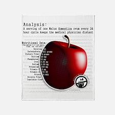 Apple Theory Throw Blanket