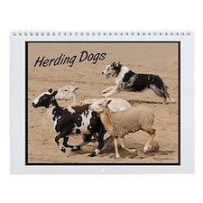 Herding Dogs Wall Calendar
