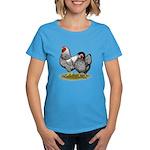 Wyandotte Silver Pair Women's Dark T-Shirt