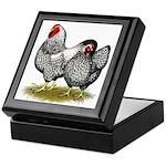 Wyandotte Silver Pair Keepsake Box