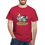 Wyandotte Silver Pair Dark T-Shirt
