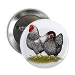 "Wyandotte Silver Pair 2.25"" Button (100 pack)"