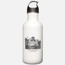 Cleft of the Rock Lighthouse Water Bottle